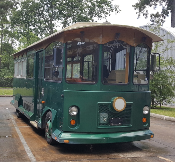 trolley at the woodlands